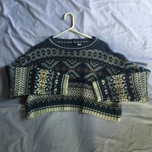 Crop Top Sweater UO